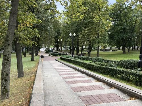 Yanka Kupala Park, Minsk 2018