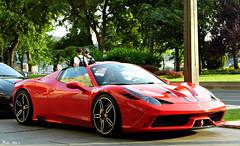 Ferrari 458 Speciale A (Márton Botond) Tags: ferrari 458 specialea roadster car sportcar luxury city citymoment cityscape fourseason budapest hungary europa panasoniclumixdmclz20