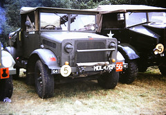 Bedford MWC Water Bowser MDL476P, Duxford Military Vehicle Rally 1980s (Richard.Crockett 64) Tags: bedford mw watertanker bowser truck lorry militaryvehicle britisharmy ww2 worldwartwo militaryvehiclerally imperialwarmuseum duxford airfield cambridgeshire 1980s