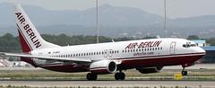 Boring 737-86J D-ABAU (707-348C) Tags: palma palmaairport lepa boeing airliner jetliner boeing737 b738 ber airberlin passenger pmi spain 2006 airberlincom historical dabau