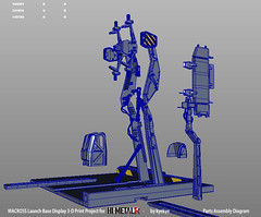 LaunchArmBase_10 (kyewans) Tags: macross himetalr display base launch arm 3d print