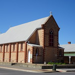 Kadina. The Anglican Church. Built in 1910 in local limestone so typical of Yorke Peninsula thumbnail