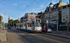 Van achter (Peter ( phonepics only) Eijkman) Tags: amsterdam city gvb trapkar bn tram transport trams tramtracks trolley rail rails strassenbahn streetcars nederland netherlands nederlandse noordholland holland