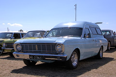 1968 Ford Falcon XT panel van (CooverInAus) Tags: beenleigh car show 2018 queensland qld australia number license registration plate 1968 ford xt falcon panel van