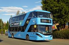 Nottingham City Transport 439 (SRB Photography Edinburgh) Tags: nottingham city transport buses bus sky blue 45 travel uk england