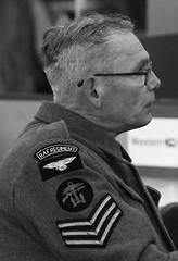 Sergeant  RAF Regiment, WW2.  (IMG_0590) (Robert G Henderson (Romari).) Tags: raf regiment ww2 soldier lathalmond dunfermline fife september 2018