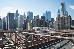 View of Lower Manhattan from the Brooklyn Bridge, NY (AperturePaul) Tags: historic newyorkcity newyork unitedstates america manhattan nikon d600 brooklynbridge bridge landmark architecture lowermanhattan
