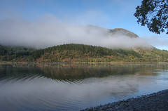 Loch Lubnaig (madrave2003) Tags: water fog mist loch scotland aftersunrise tokina cold freezing nikon d5300 lake tree forest sky landscape wood