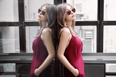 Vika (Francis.Ho) Tags: red vika xt2 fujifilm girl woman female femme lady portrait people beauty pretty lips eyes hair face chinese model elegant glamour young sensuality fashion naturallight cute goddess asian daylight sunglasses