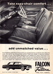1963 XL Ford Falcon Futura Aussie Original Magazine Advertsement (Darren Marlow) Tags: 1 3 6 9 19 63 1963 x l xl f ford falcon futura s sedan c car cool collectible collectors classic a automobile v vehicle aussie australian australia 60s