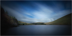 Brecon (paullangton) Tags: wales brecon reservoir colour longexposure canon clouds green blue landscape serene mountain valley llwynon cloud