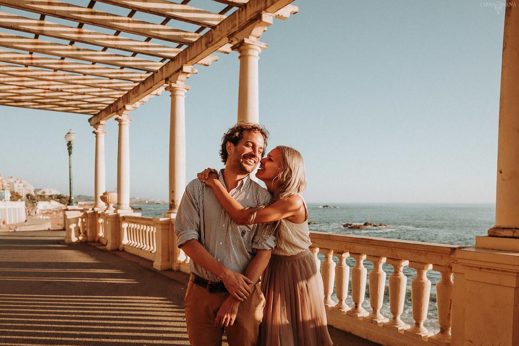 003 - ZAPAROWANA - Sesja dla zakochanych za granicą Porto Portugalia