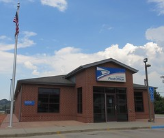 Post Office 57793 (Whitewood, South Dakota) (courthouselover) Tags: southdakota sd postoffices lawrencecounty whitewood westriversouthdakota blackhills northamerica unitedstates us