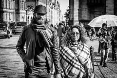 Head On (Cycling-Road-Hog) Tags: beard blackwhite candid canoneos750d cap citylife colour couple efs1855mmf3556isstm edinburgh fashion monochrome people places royalmile scarf scotland shades street streetphotography streetportrait style urban