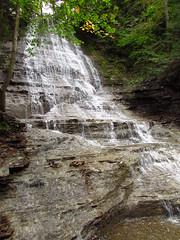Grimes Glen First Falls, New York (Chris Sanfino) Tags: ny waterfalls