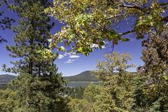 Big Bear Lake (surfneng) Tags: bigbearlake ca clouds fall leaves sky trees