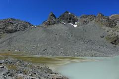 lac du Grand Désert (bulbocode909) Tags: valais suisse nendaz lacdugranddésert montagnes nature paysages eau lacs vert bleu