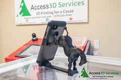 3D Printed Horse Cell Stand (joeeckert) Tags: 3dprint 3dprintservices 3dprinted 3dprinter 3dprinting 3dprintingservices 80d access3dservices a3d abs access3d holder horse phone