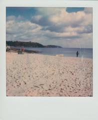 Gylly Beach (ifleming) Tags: sx70600 600colourfilm polaroidoriginals cornwall falmouth gyllybeach