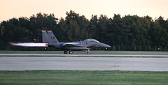 """Take-Off"" (cjf3 - f15tog) Tags: f15e usaf usaflakenheath afterburners runway strikeeagle fastjet topgun"