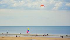 Sword Beach (M McBey) Tags: normandy france ww2 invasion swordbeach dday 6june1944 beach kite sea