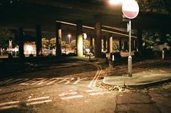 Roads (knautia) Tags: cumberlandbasin bristol england uk september 2018 film ishootfilm olympus xa2 olympusxa2 fuji superia 400iso nxa2roll75 night