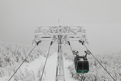 And I want it painted white (Elios.k) Tags: horizontal outdoors nopeople cablecar ropeway snow harshenvironment freezing cold sancholine zaoropeway zaoskiresort wintersport winter frozen ice frost hoarfrost tower misty mist weather visibility mountain trees coveredinsnow juhyo snowmonster fir forest sky white colour color travel travelling vacation december 2017 canon 5dmkii camera photography zao mountainzao mtzao zaoonsen zaōonsen mountzao skiresort yamagataprefecture tōhokuregion tohoku honsu asia japan