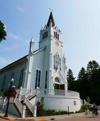 St. Anne (ekelly80) Tags: michigan mackinacisland august2018 summer upnorth puremichigan church stanne catholicchurch white