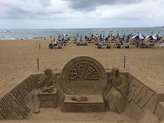 Escultura en arena en la playa de las canteras Las Palmas de Gran Canaria 37 (Rafael Gomez - http://micamara.es) Tags: escultura en arena la playa de las canteras palmas gran canaria