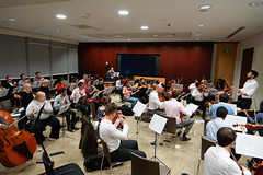 _DSC6066 (erengun3) Tags: jp morgan symphony orchestra rehearsal jpmorgan beethovens 9th eastlondon london londra orkestra raffaello morales citygateway ezgigunuc ezgidalaslan ezgi gunuc violin