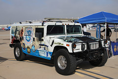 HMMVE (High Mobility Multipurpose Wheeled Vehicle) (NTG842) Tags: san diego marine corps air station miramar hmmve humvee high mobility multipurpose wheeled vehicle cbp