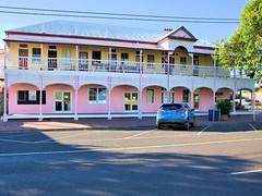WHAT WAS THE CLUB HOTEL,  JANDOWAE (16th man) Tags: jandowae qld queensland clubhotel pub hotel bottompub canon eos eos5dmkiv