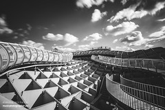 Las Setas De Sevilla (darkmavis) Tags: architecture art citiscape lassetasdesevilla longexposure seville siviglia sivilla spain street structure