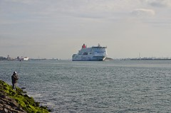 Stena Hollandica (Hugo Sluimer) Tags: portofrotterdam port haven onzehaven nlrtm nederland hoekvanholland holland zuidholland stenaline stena hollandica stenahollandica