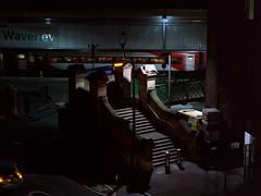 Dark City | Trainspotter's Corner #2 (bnrynlds) Tags: portra 100t edinburgh bronica etrsi