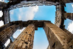 _DSC7955 (Dan Kistler) Tags: italy paestum greek temple clouds