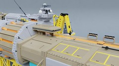 FCS Jolly Reaper (Sunder_59) Tags: lego moc render blender3d mecabricks scifi space spaceship spacecraft starship vehicle micro microscale shiptember shiptember2018