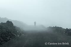 Into the mist (10b travelling / Carsten ten Brink) Tags: carstentenbrink 2018 catania etna europa europe iptcbasic italia italian italie italien italy mountetna sicily cmtb volcano volunteering vulcanology