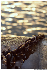 Prayer For The Dying (Matías Brëa) Tags: cadena puerto agua bokeh chain seaport water reflejo reflection