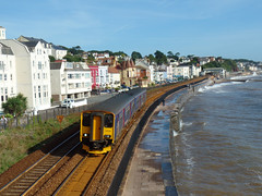 150238 Dawlish (Marky7890) Tags: gwr 150238 2t12 class150 sprinter dawlish railway devon rivieraline train