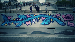 Sur les murs (jscariot1975) Tags: paris france tag graffiti wall mur peinture