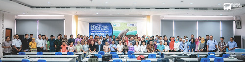 Photo with Training Participants