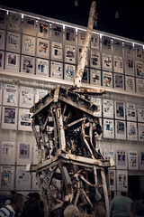Piece of debris from World Trade Center (BirthofSamuel) Tags: washingtondc newseum museum sony35mm18 sonyalpha a6000photography a6000 frontpage newspapers 911 wtc building debris