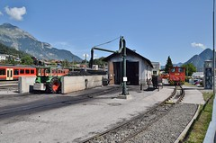 Zillertalbahn Jenbach (eddespan (Edwin)) Tags: bosnischsmalspoor zillettalbahn 760mm schmalspur narrowgauge smalspoor jenbach tirol oostenrijk östenreich austria spoorweg railway eisenbahn bahnhof station gare