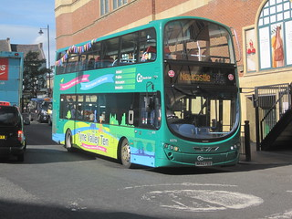 Go North East 6076 (NK62 FEU). Eldon Square Bus Station, Newcastle