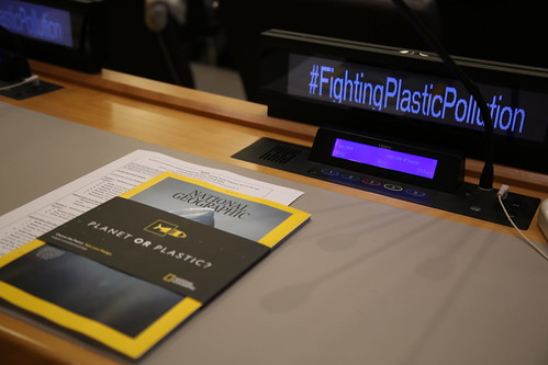 Fighting Plastic Pollution: A Global Race to the Top - New York, USA