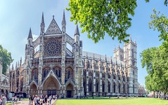London Westminster Abbey 66, (zwzzjim) Tags: adventure architecture plant tree outdoor landscape serene blue waterfront water dawn castle europe sky building tower grass road wall london city cityscapes complex