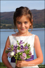 Flower Girl (graeme cameron photography) Tags: graeme cameron wedding photographer photography lake district ullswater glenridding house professional cute young flower girl portrait child