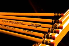 Darken Pencils (masonmack505) Tags: pencil art views trending color yellow green wood thin faves likes comment follow adventure love hope faith warm cool cold