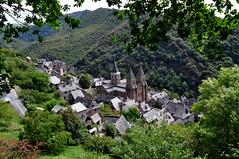 Conques (Département de l'Aveyron, en région Occitanie) France (natureloving) Tags: conques southfrance aveyron occitanie village monuments nature architecture natureloving nikon d90 nikonafsdxnikkor18300mmf3563gedvr
